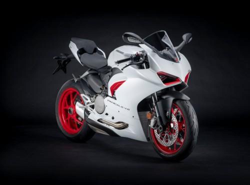 Ducati Panigale V2 w nowym wykończeniu White Rosso