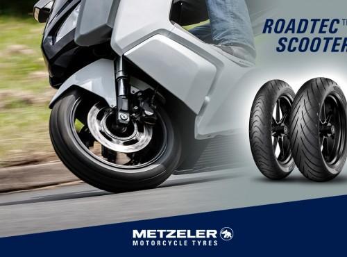 Metzeler ROADTEC Scooter - nowa generacja opon do skuterów