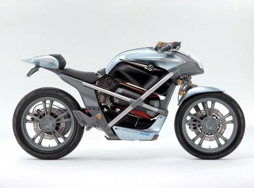 Suzuki patentuje motocykl z silnikiem hybrydowym