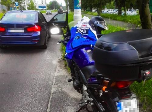 Jechał motocyklem za szybko i pod wpływem. Stracił 6 kategorii prawa jazdy
