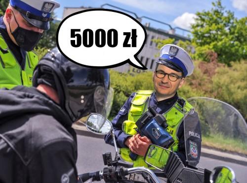 Nowe stawki mandatów 2021. Nawet 5 tys. zł za poważne wykroczenia