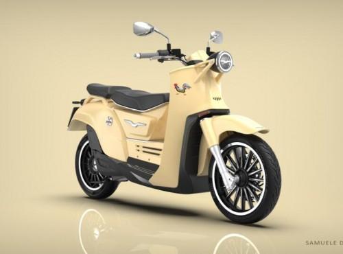 Moto Guzzi Galletto 2020. Koncept retro skutera w hołdzie przeszłości
