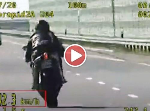 242 km/h i brak przeglądu technicznego... Grupa SPEED w akcji [VIDEO]