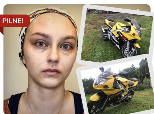 Oddał motocykl, by ratować życie koleżanki. Licytuj i pomóż!