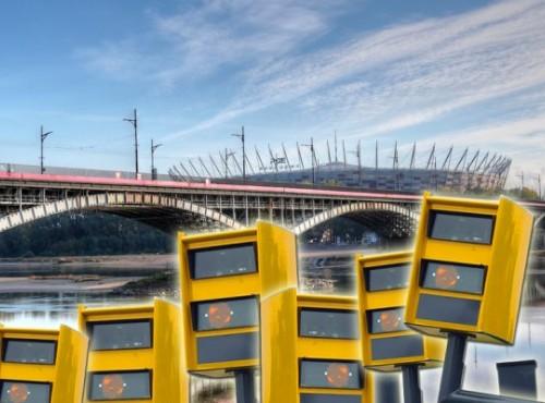 Warszawa: fotoradary już na Poniatoszczaku! Czy będą rejestrować motocykle?