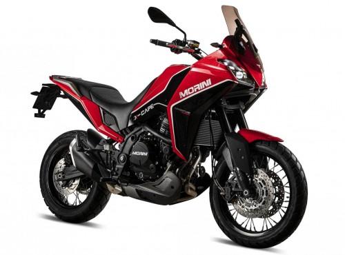 Adventure: Moto Morini X-Cape trafia do sprzedaży. Niestety... [dane techniczne]
