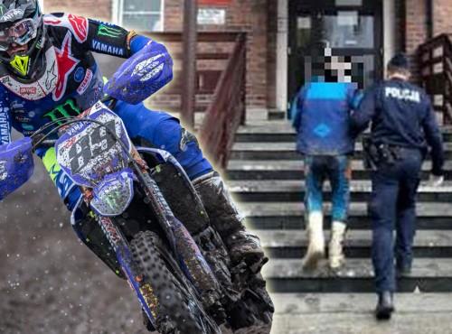 Karkonosze: policja i leśnicy nie odpuszczają. Niemiec zatrzymany za jazdę motocyklem po lesie