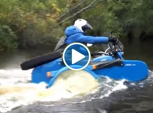 Testy jakościowe motocykli Ural - video z przymrużeniem oka