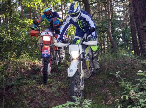 Lubisz poszaleć po lesie na motocyklu enduro lub quadzie? Zobacz co Ci grozi