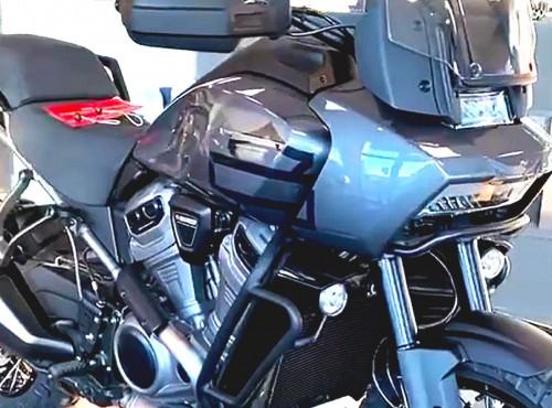Harley Davidson Pan America - tak wygląda na wideo