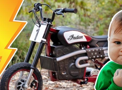 Indian prezentuje swój pierwszy motocykl elektryczny