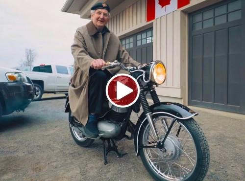 Odzyskał swój motocykl po 60 latach rozłąki
