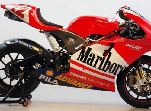 Legendarne Ducati GP3 teraz może być twoje