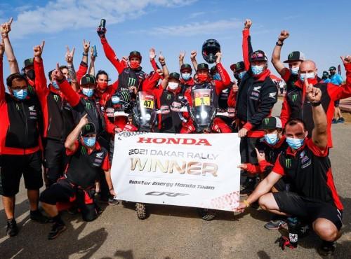 Dakar 2021: Honda wygrywa drugi rok z rzędu. Bardzo dobre wyniki Polaków