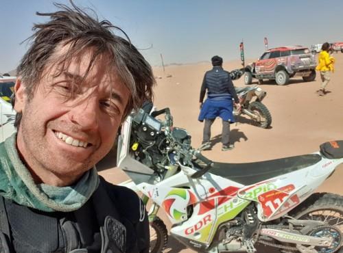 Dakar 2021: zmarł francuski motocyklista Pierre Cherpin
