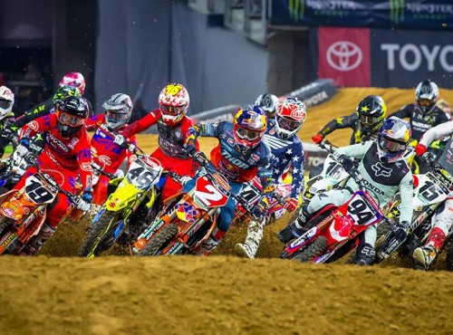 Rusza AMA Supercross. Listy startowe, kontuzjowani, tor na Houston One [VIDEO]