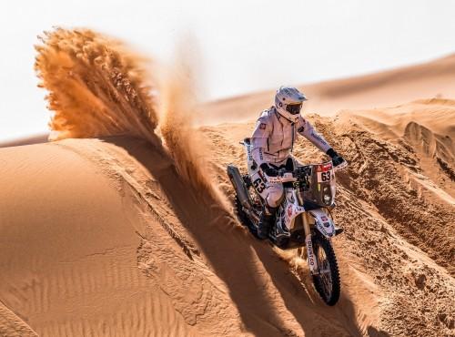 Spełnione marzenie - Konrad Dąbrowski na podium Rajdu Dakar 2021