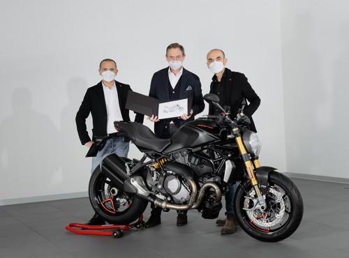 Monster najlepiej sprzedającym się motocyklem w historii Ducati