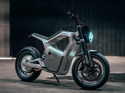 Sondors Metacycle - 19 KM, 130 km zasięgu i 130 km/h prędkości maksymalnej. Pierwszy motocykl elektryczny Sondors