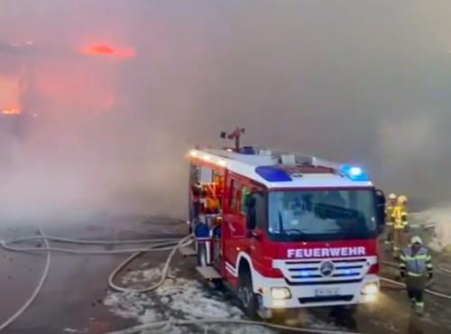 Pożar w najwyżej położonym muzeum motocyklowym na świecie