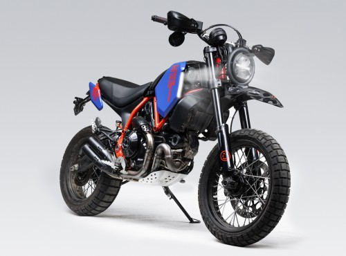 Odmień swoje Ducati Scrambler Desert Sled z mocno limitowanym zestawem akcesoriów