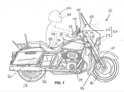Harley-Davidson pracuje nad tempomatem wspomaganym radarem i systemem automatycznego hamowania