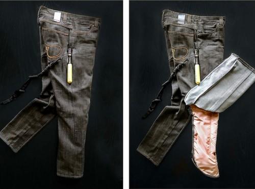 Jeansy motocyklowe z poduszkąpowietrzną - zobacz prototyp