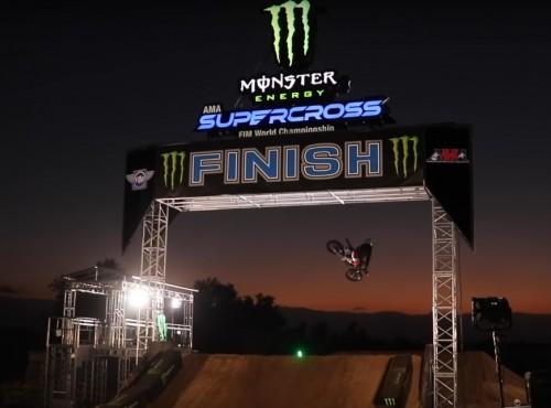 Gwiazdy AMA Supercrossu na treningu u Deeganów [VIDEO]