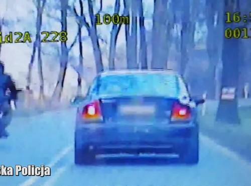 Lubuskie: policjantka z grupy Speed złapała uciekającego motocyklistę