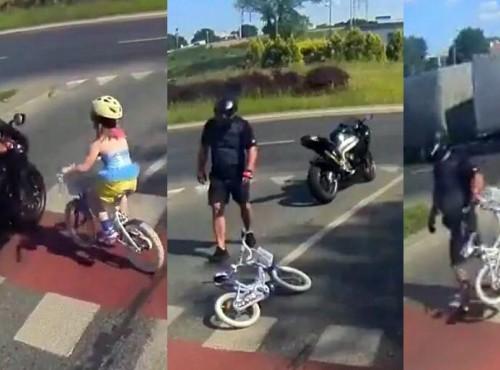 Kierowca motocykla, który potrącił dziecko na pasach i uciekł, usłyszał wyrok