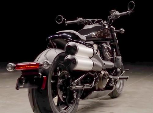 Harley-Davidson 1250 Custom pojawia się na filmie. Będzie nowy model z silnikiem Revolution Max 1250