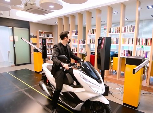 Inteligentny system parkingowy pomoże w walce ze złodziejami motocykli