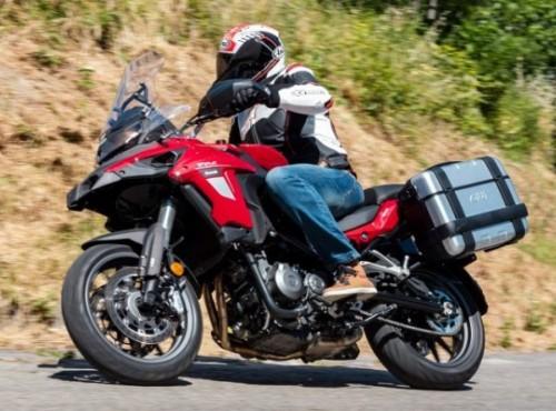Benelli TRK 502 zdeklasowało konkurencję i było najlepiej sprzedającym się motocyklem adventure we Włoszech