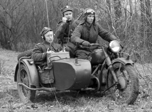 Motocykle radzieckie M-72 i K-750 w Ludowym Wojsku Polskim cz. 1