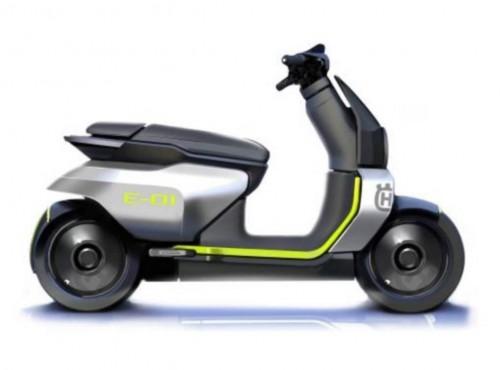 Elektryczny skuter Husqvarny pojawi się w 2022 roku. Baza jużjest gotowa