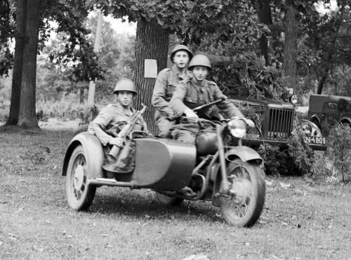 Motocykle radzieckie M-72 i K-750 w Ludowym Wojsku Polskim