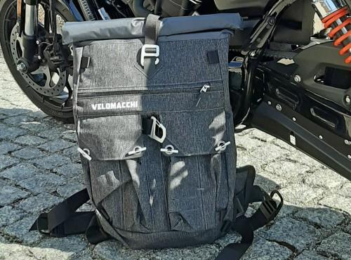 Velomacchi Speedway Backpack 28L, czyli krótka odpowiedź na pytanie o polecany plecak na motocykl