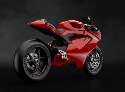 Elektryczny motocykl Ducati do szuflady. W zamian