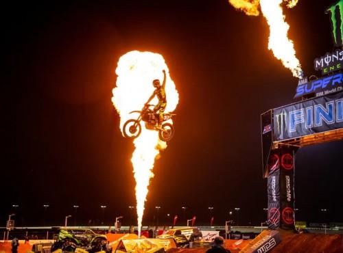 AMA Supercross: dramatycznie w Atlancie. Wyniki czternastej rundy [VIDEO]
