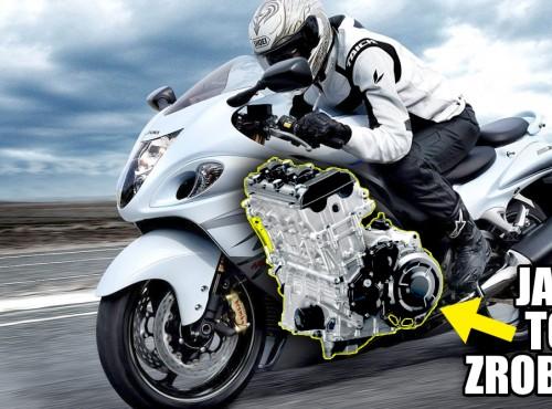Silnik Suzuki Hayabusa 2021 pod lupą. Jest mocniejszy, a sam motocykl szybszy. Jak to zrobili?