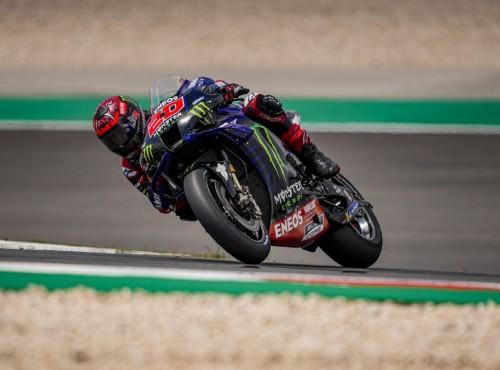 MotoGP 2021: Fabio Quartararo zdobywa pole position w kwalifikacjach MotoGP w Grand Prix Portugalii