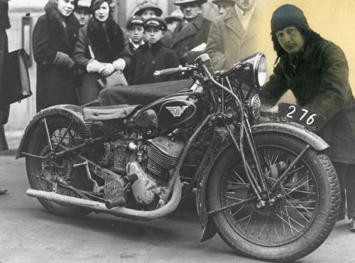 Sokół - kultowe polskie motocykle. 18 kwietnia urodził się ich twórca, Tadeusz Rudawski