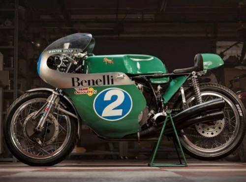 Sportowy Benelli 350GP ma 53 lata, ale wciąż zadziwia formą. Ten motocykl nie chce stać w muzeum