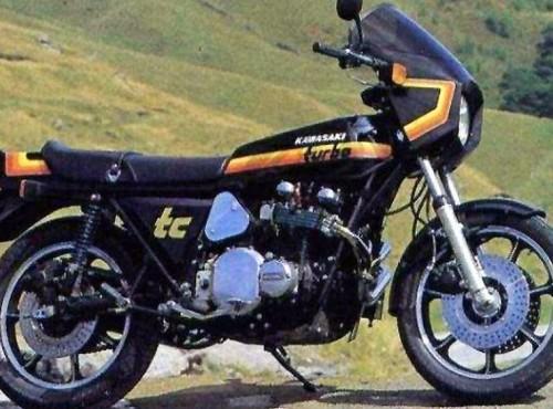 Kawasaki ZR1-TC Turbocharged - motocykl sprzedawany z ostrzeżeniem