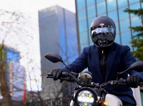 Marynarka motocyklowa Brummel z podszewką z kevlaru ochroni każdego eleganckiego dżentelmena