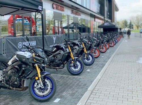 Yamaha MT Tour 2021 w ten weekend w Yamaha POLand POSITION Piaseczno