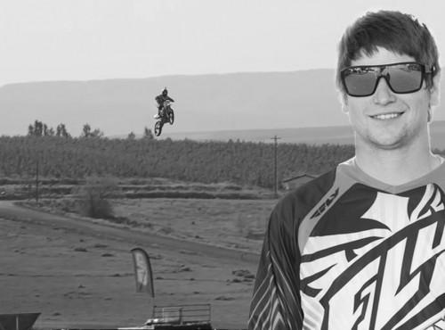 Alex Harvill zginął podczas próby bicia rekordu długości skoku na motocyklu