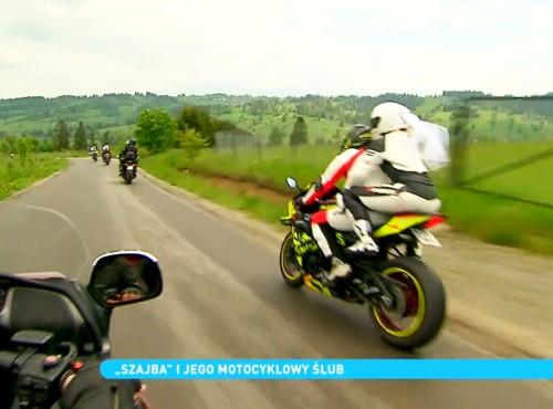 Motocyklowy ślub Arka