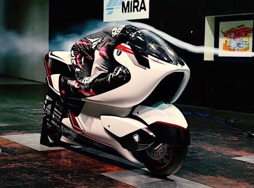 Elektryczny motocykl WMC pobije rekord prędkości? Zastosowano w nim rozwiązanie z Formuły 1