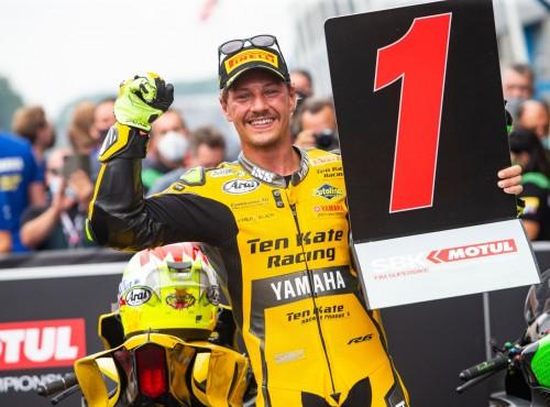 WSBK 2021: Dominique Aegerter wygrywa drugi wyścig World Supersport na TT Circuit Assen